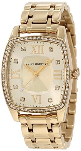 - Juicy Couture Women's 1900974 Beau Gold Bracelet Watch