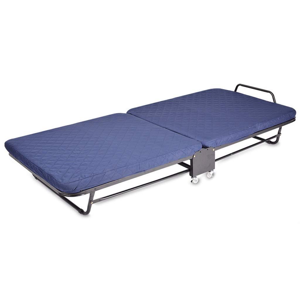 CHX Einzelnes erwachsenes Schwammbett des doppelten faltenden Bettbüromittagspause Portable einfaches einziehbares (Size : 90cm Wide)