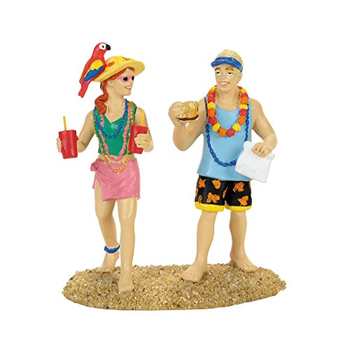 Department 56 Margaritaville Village Couple Accessory Figurine Multicolor