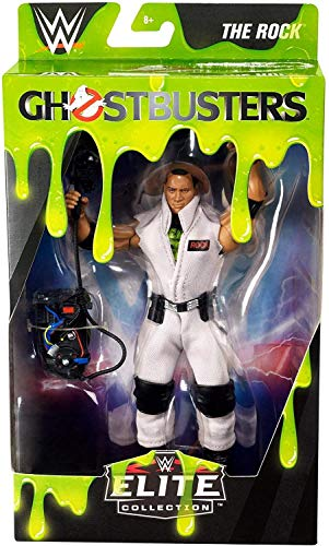 WWE Elite Ghostbusters The Rock Action Figure
