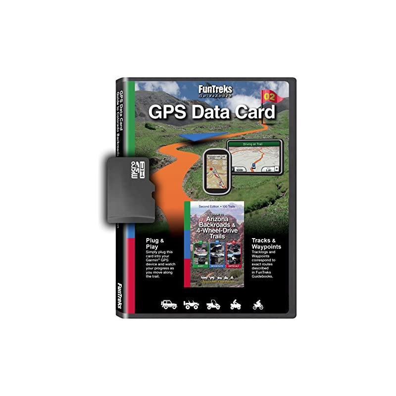 GPS Data Card for Guide to Arizona Backr