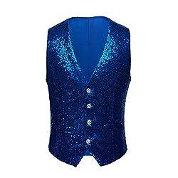 Full Sequin Waistcoat