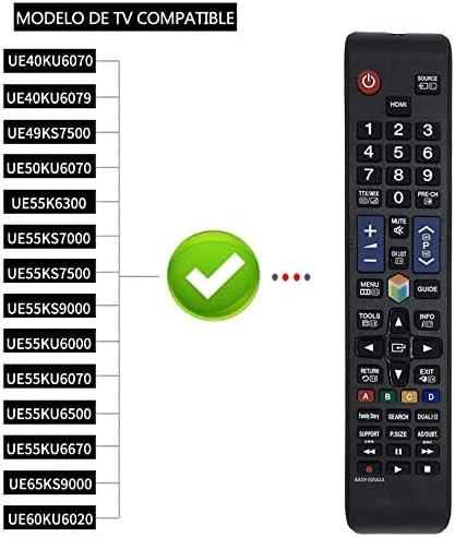 Reemplazo Samsung AA59-00582A Mando a Distancia para Samsung TV/Smart TV, Compatible con Mando a Distancia para Samsung AA59-00580A AA59-00581A AA59-00638A BN59-01198Q: Amazon.es: Electrónica