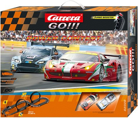Carrera Circuito GO!!! Power Contest, escala 1:43 (20062326): Amazon.es: Juguetes y juegos
