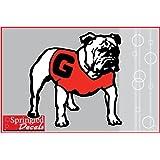 Georgia Bulldogs Uga Mascot 6 Vinyl Decal Car Truck