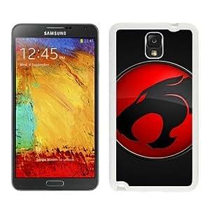 Samsung Galaxy Note 3 Cover Case,Thundercats Logo White Cool Customized Samsung Galaxy Note 3 Case