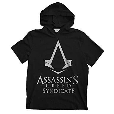 I-D-C CID AssassinS Creed Syndicate-Logo, Sudadera para Hombre, ...