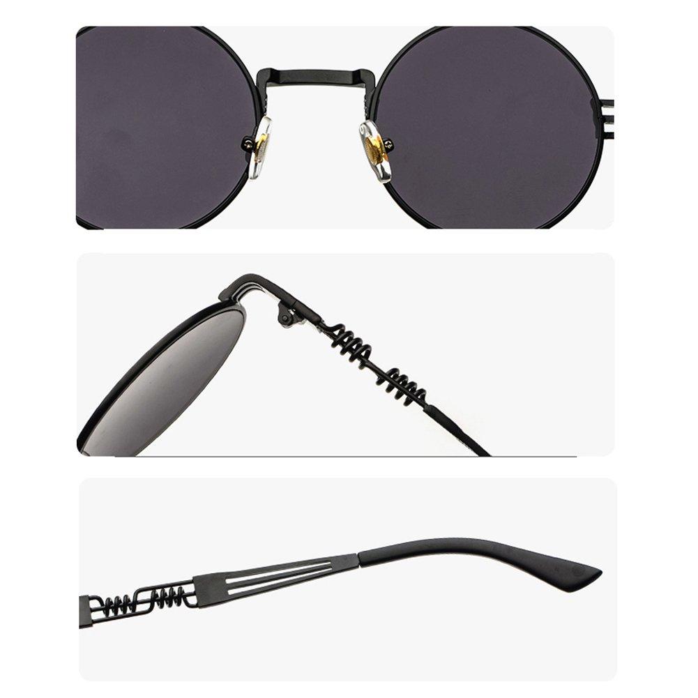 Amazon.com: Gafas de sol para hombre, estilo vintage ...