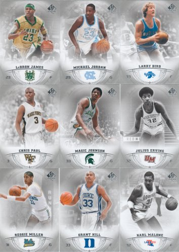 Upper Deck 2013 SP Authentic Basketball Card Set Complete...