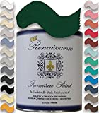 Retique It It by by Renaissance Chalk Finish Paint, 32 oz (Quart), Viridian 48