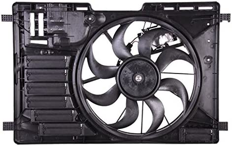 Dual Radiator and Condenser Fan Assembly Cooling Direct For//Fit FO3115195 13-16 Ford Escape 1.6//2.5L WITH Fan Control Module