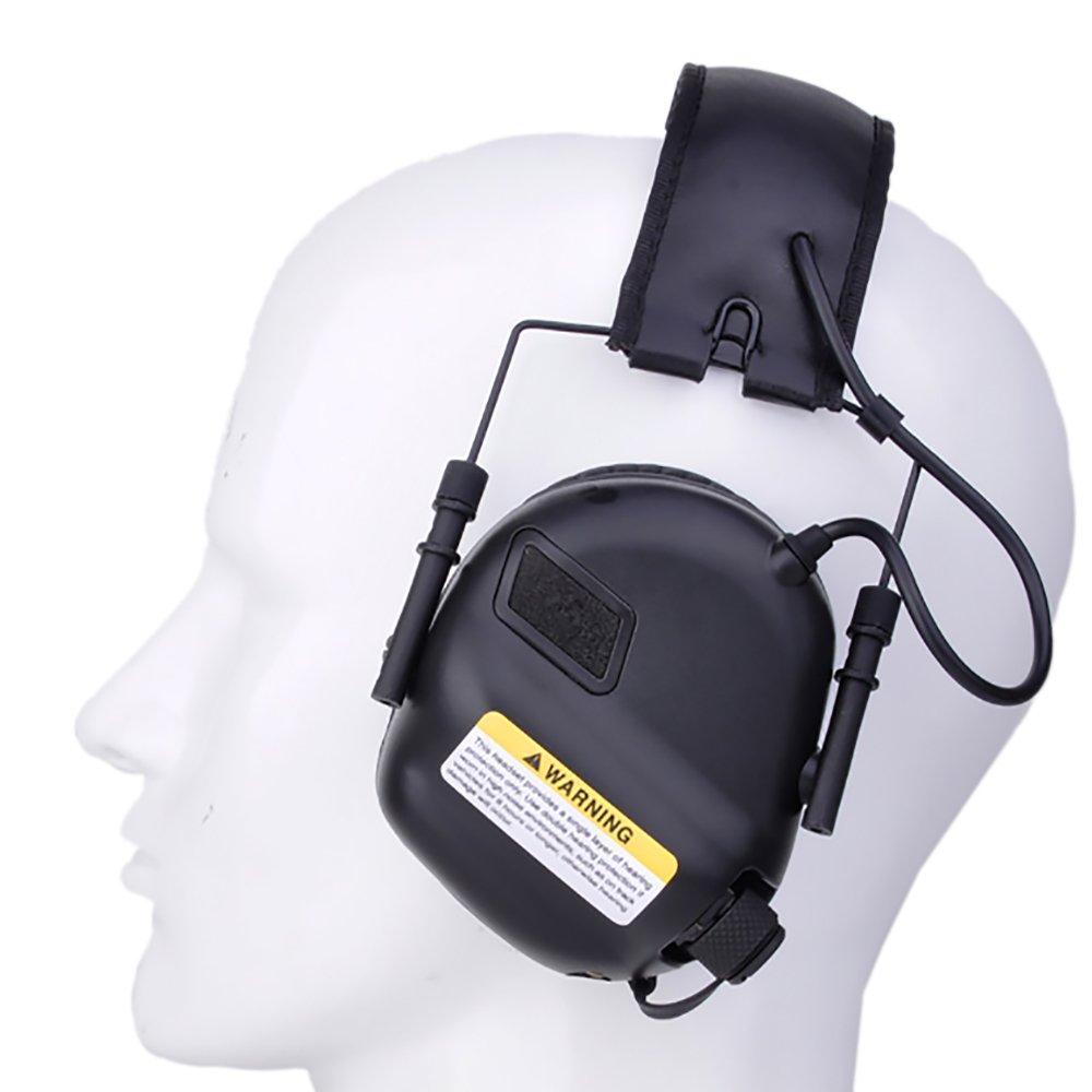 opsmen electrónicos protección auditiva orejeras auriculares con entrada auxiliar, M31 serie Suprime perjudiciales amplificador de ruido bajo nivel de ...