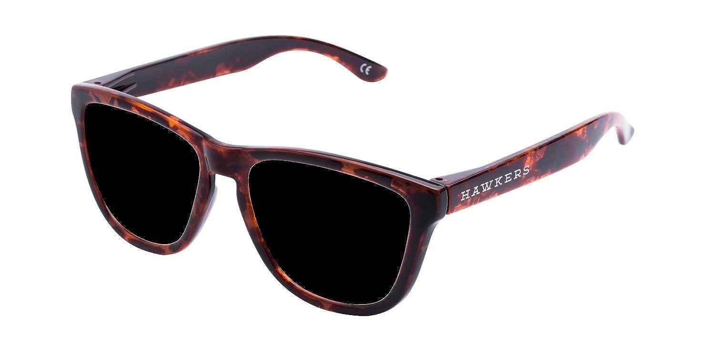 Hawkers Carey Dark One, Gafas de Sol Unisex, Marrón/Negro, 65