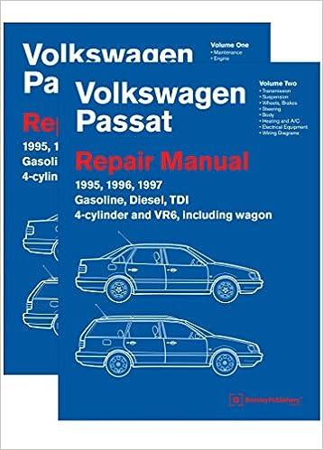 Volkswagen Passat B4 Repair Manual 1995 1996 1997 2