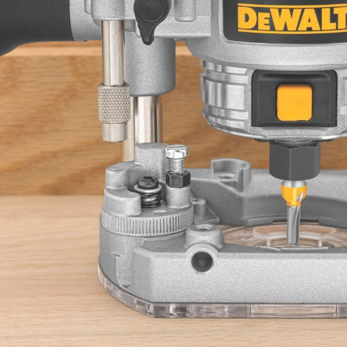 DEWALT DWP611PK 1.25 HP Max Torque Variable Speed Compact Router Combo Kit with LED's by DEWALT (Image #2)