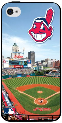 MLB Cleveland Indians Iphone 4/4s Hard Cover Case (Cleveland Indians Iphone 4s Case)