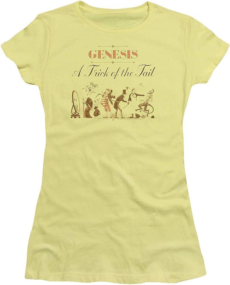 Genesis - A Trick of The Tail - Juniors Sheer Cap Sleeve T-Shirt