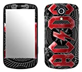 Zing Revolution MS-ACDC30215 AC/DC-Black Ice Cell Phone Cover Skin for Samsung Epic 4G Galaxy S (SPH-D700)