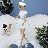 Fashion Doll: Ice Skater Dress & Tam Crochet ePattern