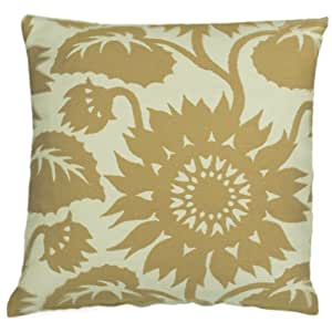 "18"" X 18"" Del Sol Amber Outdoor Pillows Made From Durable Polypropylene Fabric"