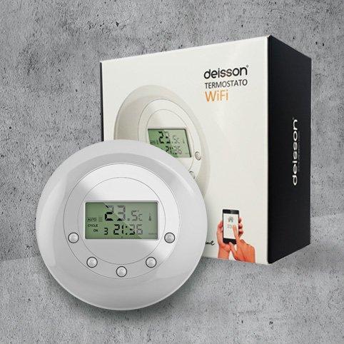 Deisson; Termostato wifi para smartphone: Amazon.es: Bricolaje y herramientas