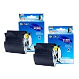G&G ® 2 pk Brother LC51/LC-51 Black LC51BK LC51-BK Compatible BK Ink Cartridge For Brother DCP-130C, DCP-330C, DCP-350C, DCP-750CW, MFC-230C, MFC-240C, MFC-3360C, MFC-440CN, MFC-465CN, MFC-5460CN, MFC-5860CN, MFC-665CW, MFC-685CW, MFC-845CW, MFC-885CW / IntelliFax 1360, 1860C, 1960C, 2480C, 2580C