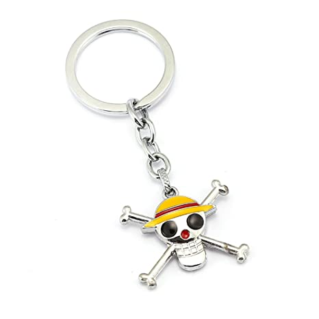 Skisneostype One Piece Luffy, Cartoon Anime Metal Llavero ...