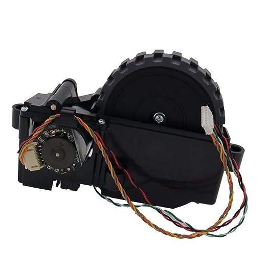 Baoblaze 1 pc Rueda de Motor de Aspiradora Artículos de Limpieza de Hogar Durable - Negro Rueda Derecha: Amazon.es: Hogar