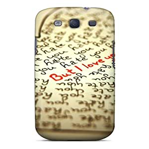 Mialisabblake Fashion Protective Hate U But Case Cover For Galaxy S3 by Maris's Diary