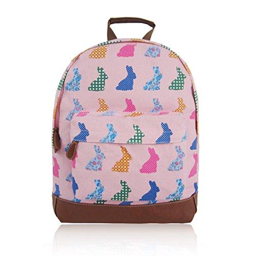Craze london - Bolso mochila  de Lona para mujer Rosa