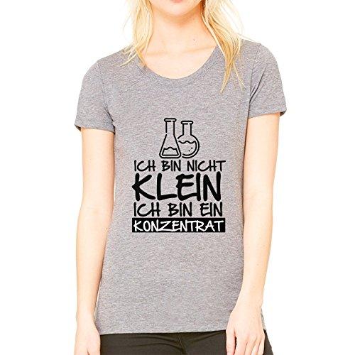 Ich Bin Nicht Klein Ich Bin Ein Konzentrat Damen T-shirt