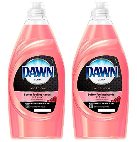 DAWN Hand Renewal Dishwashing Liquid, Pomegranate Splash, Set of 2 - 8 oz - Pomegranate Splash