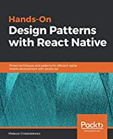 Hands-On Design Patterns with React Native Front Cover