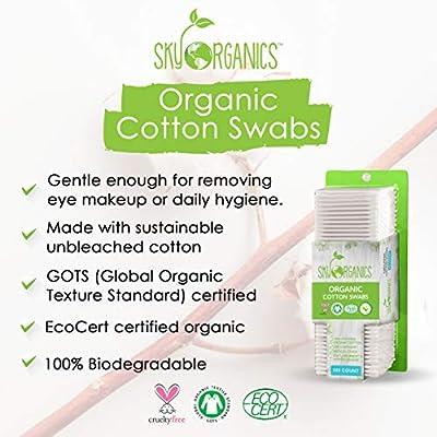 Sky Organics Cotton Swabs