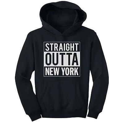 Tstars TeeStars - Straight Outta New York - From NY City Youth Hoodie