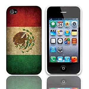 Vintage The Mexican Flag Pattern Hard Case with 3-Pack by ruishername