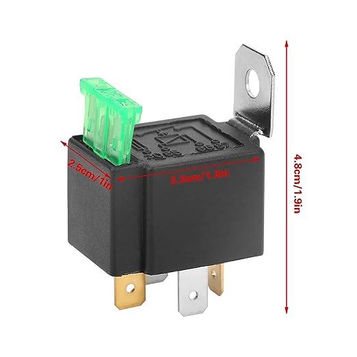 Led Blinkrelais Dc 12v 4 Pin Elektronisches Flasher Relay Mit Halterung Für Auto Motorrad Led Blinker Glühlampe Hyper Blinken Gewerbe Industrie Wissenschaft