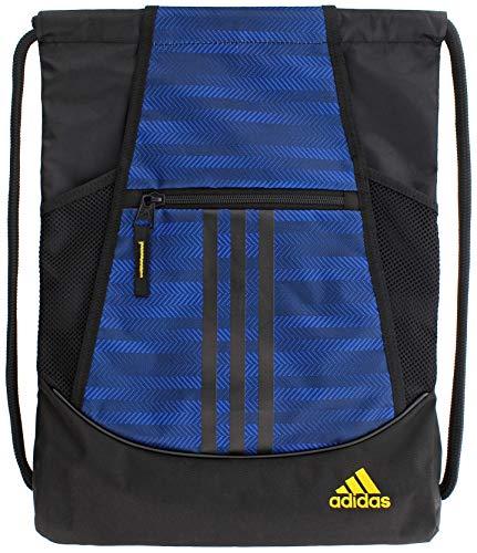 adidas Unisex Alliance II Sackpack, Team Royal Blue, ONE SIZE