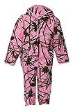 Trail Crest Toddler Camo Two Piece Fleece Jacket & Pants Set, 5T, Pink Camo