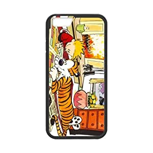 Amazing iphone 6 Case Cover calvin and hobbes play comic strip write Pattern Tough iphone 6 Hard Back Protector mlb nfl nhl High Quality PC Case Atlanta Falcons nd01203 for iPhone 6 Case