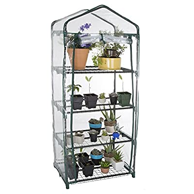 Pure Garden Mini Greenhouse with Cover by Pure Garden
