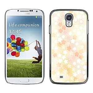 PC/Aluminum Funda Carcasa protectora para Samsung Galaxy S4 I9500 Floral pattern / JUSTGO PHONE PROTECTOR