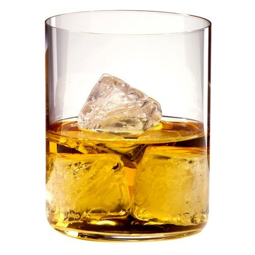 Riedel H2O Classic Bar Old Fashioned Whiskey Glass, Set of 4 by Riedel
