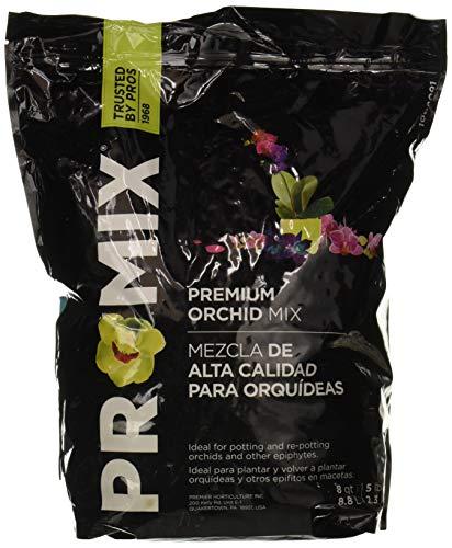Premier Horticulture 1008091RGCE Orchid Mix, 8 Quart, Black