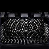 Veeleo Car Trunk Mats All Weather for Tesla Model-S -5 Seats 2009-2016 3D