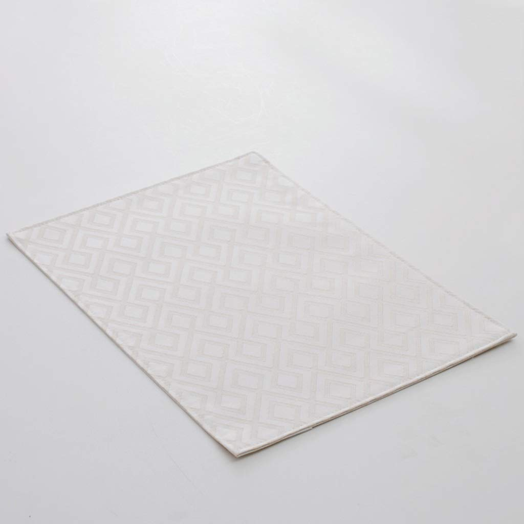 Placematパッド - 布製テーブルマット長方形絶縁型Western Placematトレイパッドトレイパッド (色 : C, サイズ さいず : (6 piece)) (6 piece) C B07PB1Z8SR