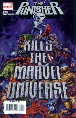 "Punisher Kills the Marvel Universe ""3rd Printing Reprinted in '08 Dougie Braithwaite Cover"" "" pdf epub"