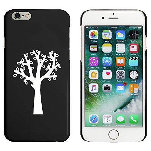 Noir 'Feuillu Arbre' étui / housse pour iPhone 6 & 6s (MC00086818)