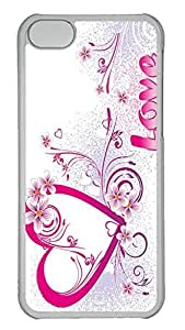 Personalized iPhone 5c Cases - Unique Cool Design Love 18 by lolosakes