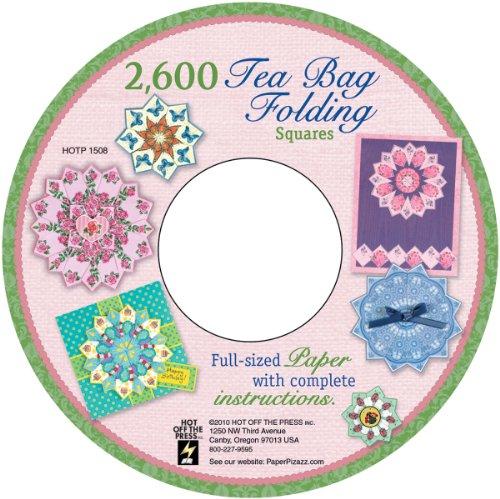 Hot Off The Press Tea Bag Folding CD, 2600 Images